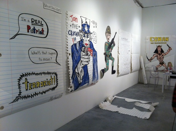 nyc, art, gallery, michael scoggins