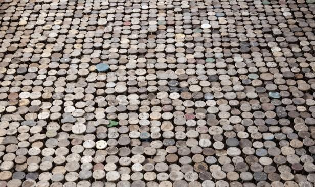 ai wei wei, stools, art, artist, berlin museum
