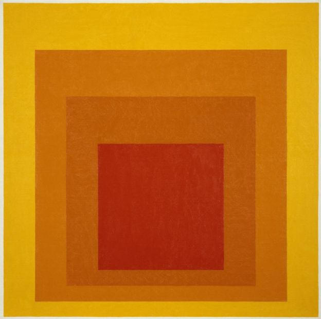 josef albers, art scene nyc, homage to the square