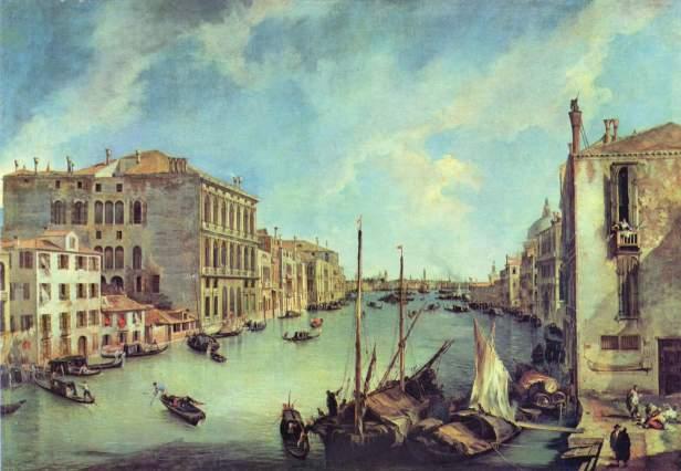 Canaletto,Giovanni,Antonio,Canal,Video,d'Arte