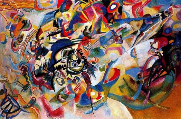 Wassily,Kandinsky,Composition,Paintings,Often,Bird,Wim,Mertens
