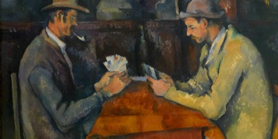 Les joueurs de cartes, cezanne, art, nyc art scene, paul cezanne paintings, impressionist art, Post-Impressionist painter, french art, french artist, aix