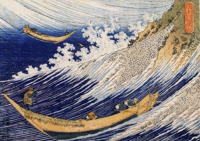 katsushika hokusai, marina, ukiyo-e