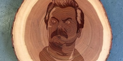 ron swanson, art, pop art, television