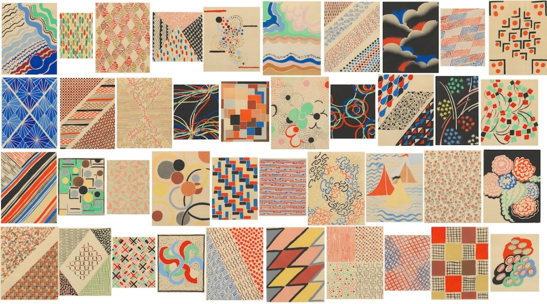 Sonia Delaunay, art, abstract art, kandinsky