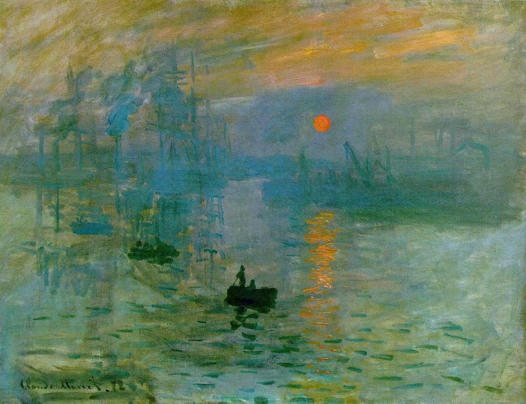 Claude Monet's Impression, Sunrise (Musée Marmottan Monet, Paris)